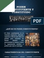 PODER CONSTITUYENTE Y CONSTITUIDO