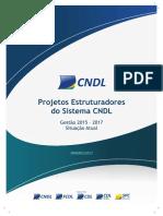 Situação Atual - Projetos Estruturadores 2017