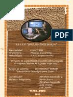 proyecto de capacitacion para la creación de páginas web
