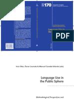 T.Albaladejo. Rhetoric and Discourse Analysis