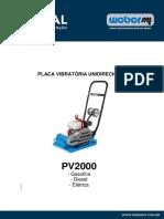 PV2000-Manual e Pecas-1