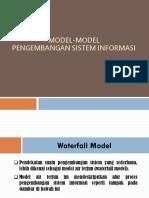 Model-Model  Pengembangan Sistem Informasi