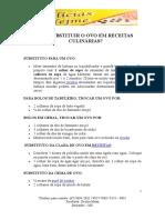 COMO SUBSTITUIR OS OVOS EM RECEITAS CULINÁRIAS.doc