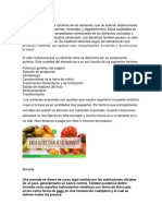 Valor nutricional. moneda, teoria monetaria