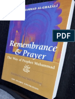 Remembrance & Prayer the Way of The Prophet Muhammad (SAW) by Muhammad Al Ghazali