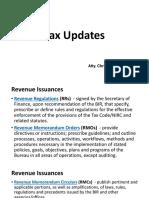 Tax Updates BGC Jekell Dec13, 2019.pptx