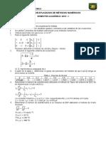 Examen de Aplazados 2015 - I
