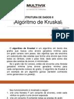 ESTRUTURA DE DADOS II - KRUSKAL.pptx