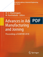 Advances in Additive Manufacturing and joinning