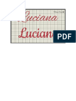 LUCIANA EN PUNTO DE CRUZ