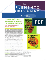 Suplemento Libors UNAM abril 2019