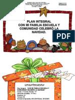 PLAN INTEGRAL DE  NAVIDAD
