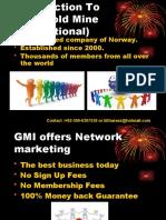 GMI Presentation, +92 300 6307536