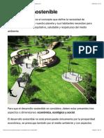 ¿Qué es el desarrollo sostenible, características y 17 objetivos?