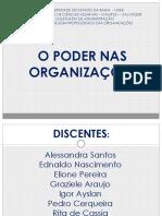 Seminario O poder nas organizacoes final  HOJE.pptx