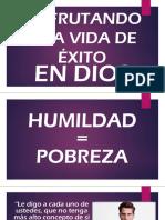 DISFRUTANDO EL EXITO-