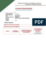 Plan Anual trimestralizado individual