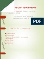 A PLANNING REVOLUTION . social planning
