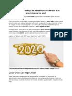 Orixá 2020 - Conheça as influências dos Orixás e as previsões para o ano