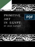 Jean Capart Primitive Art in Egypt