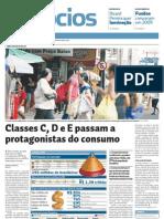 Diario Do Nordeste Protagonist As Do Consumo 21-03-2009