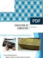 1-Evolution of Computers