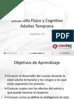 Cap. 13 Desarrollo físico y cognoscitivo adultez temprana