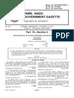 Name gazettee