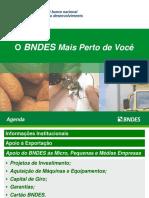 APRESENTAÇÃO BNDES PME
