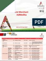 Merchant AdMedika April 2017