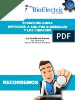 CAPACITACION PLUSALUD TECNOVIGILANCIA Y LIMPIEZA EQUIPOS