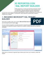 CREACIÓN DE REPORTES CON MICROSOFT SQL REPORT BUILDER