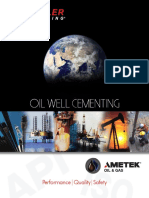 oil well cementing brochure