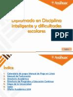 Diplomado en Disciplina inteligente y dificultades escolares