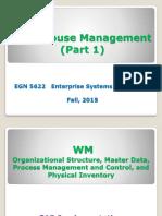EGN_5622_Warehouse Management - Part 1 Lab 8.ppt