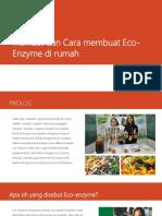 Manfaat dan Cara membuat Eco-Enzyme di rumah