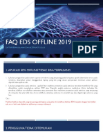 FAQ & ALTERNATIF SOLUSI PERMASALAHAN EDS OFFLINE 2019
