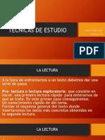 TECNICAS DE ESTUDIO PPT