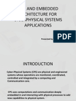 Cyber Physical Systems