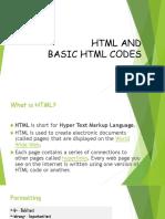 HTML Codes Ko