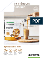 High Protein Iced Coffee disponible à Tahiti et Polynésie