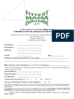 2011 One Fit Mama Fittest Mama Challenge Registration