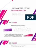 THE CONCEPT OF THE LEARNING MODEL