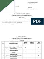 planificare clasa a VI-a consiliere si orientare 2019-2020