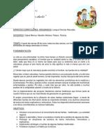 PROYECTO LOS YUYITOS DE LA ABUELA  3ros