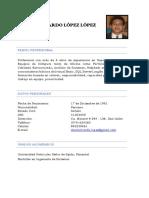 Danilo Ricardo López López
