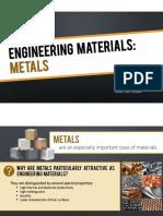 Engineering Materials Metals