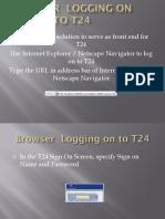 Browser-Navigation