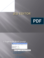JED EDITOR