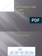 Directory structure of T24